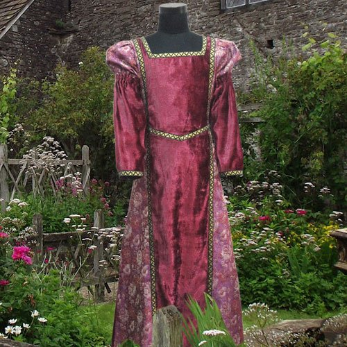 Child's Renaissance Medieval Costume Dress