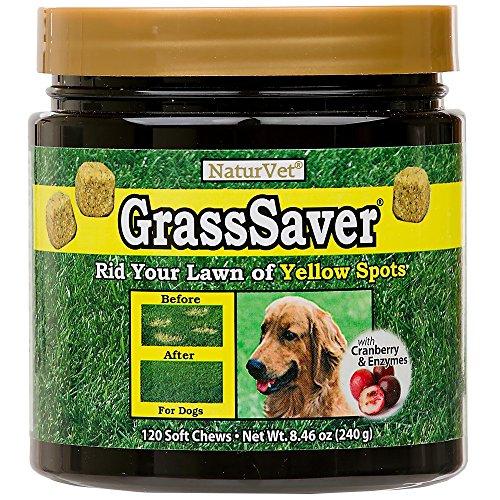 Naturvet Grasssaver Soft Chews With Cranberry, 120-Pack