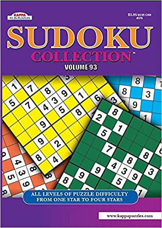 Sudoku Collection Puzzle Book - Volume 93