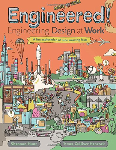 Book Cover: Engineered!: Engineering Design at Work