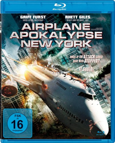 Airplane Apocalypse New York [Blu-ray]