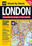 AA London Street by Street Map