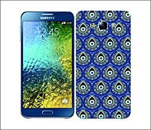 Galaxy Printed 1666 EVIL EYES Rhythm Hard Cover for Samsung S3 NEO