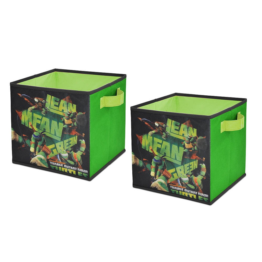 Teenage Mutant Ninja Turtles 2-Pack Storage Cubes
