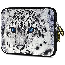 Amzer 10.5 inch Neoprene Sleeve Siberian Cat for Samsung Galaxy Note 800, Apple iPad Air, Samsung Galaxy Tab 3 10.1 P5210