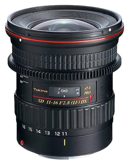 Tokina AT-X 2,8/11-16 Pro C/AF pour Canon DX Video