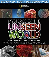 Mysteries of the Unseen World 3D (Blu-ray / DVD Combo) by Virgil Films and Entertainment