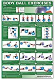 Body Ball Exercises-Core Laminated (Poster)