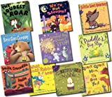 Various Animals Galore 10 Books in bag(Christopher Nibble,Little Lost Cowboy,Boris Goes Camping, Puddle's Big Step,Quack Quack Moo, We See You!, What Small Rabbit HeardSmile, Crocodile, smile, The Animal Bop Won't Stop!,We're Not Sleepy!,The Loudest Roar)