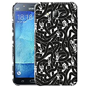 Theskinmantra Finger game back cover for Samsung Galaxy J7