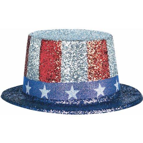 Patriotic Glitter Hat
