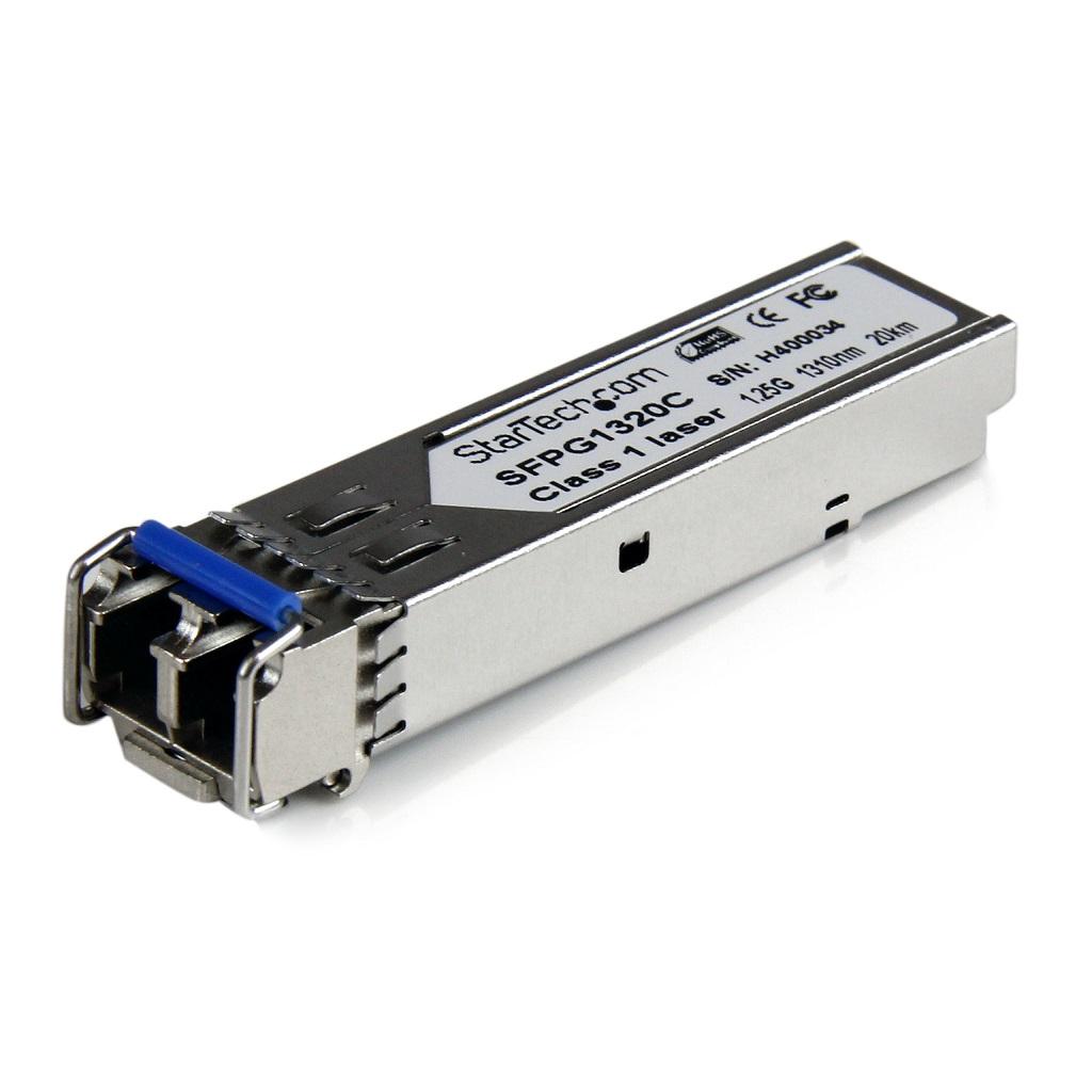 Cisco Compatible Gigabit Fiber SFP Transceiver Module SM LC w/ DDM