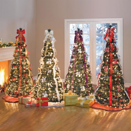 brylanehome watch videoflat to fabulous fully decorated pre lit 6ft christmas tree