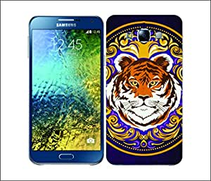 Galaxy Printed 2399 Modern Baroque Animals Tiger Hard Cover for Samsung GRAND 2