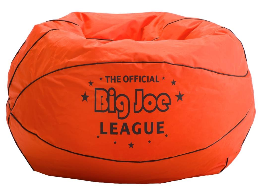 Comfort Research Big Joe Basketball Bean Bag with Smart Max Fabric