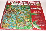 "Worlds Most Difficult Jigsaw Puzzle ""Fishing"" 529 Pieces"