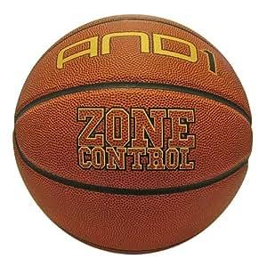 AND1 Zone Control, Pallone da basket, misura 7, colore: Cannella