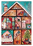 ロジャーラボード 【クリスマス】 アドベントカレンダー (クリスマスハウス) ACC033