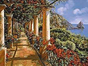 Amazon.com: 40W x 30H Le Colonne e I Fiori (Giclee) by Guido Borelli