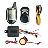 EASYGUARD EM208-1 2 way motorbike alarm system with tilt sensor shock sensor remote engine start optional DC12V