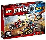 Lego Ninjago - 70600 - La Poursuite En Moto Des Ninja
