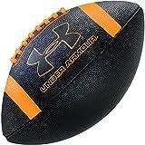 Under Armour 295 Spongetech Football, Black/Orange, Official