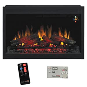 <strong> 36EB110-GRT Build-in Fireplace</strong> width=
