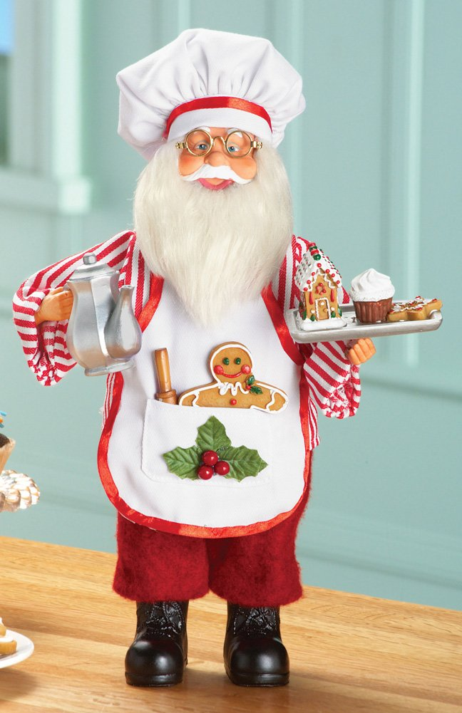 Santa Baking Tabletop Decoration