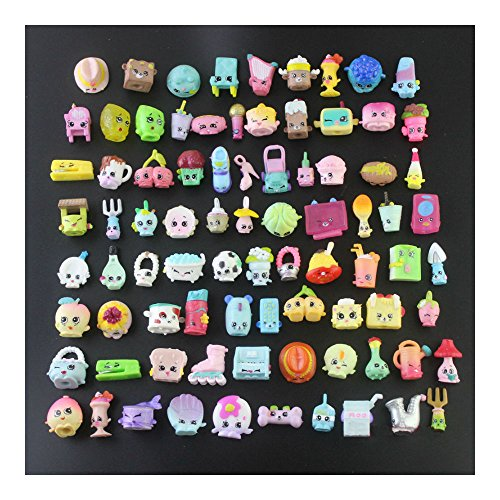 [US 2016 Random Lot of 100PCS Shopkins of Season 1 2 3 4 5 Loose Toys Kids Gift Toy to life] (Gumball Machine Costume For Kids)