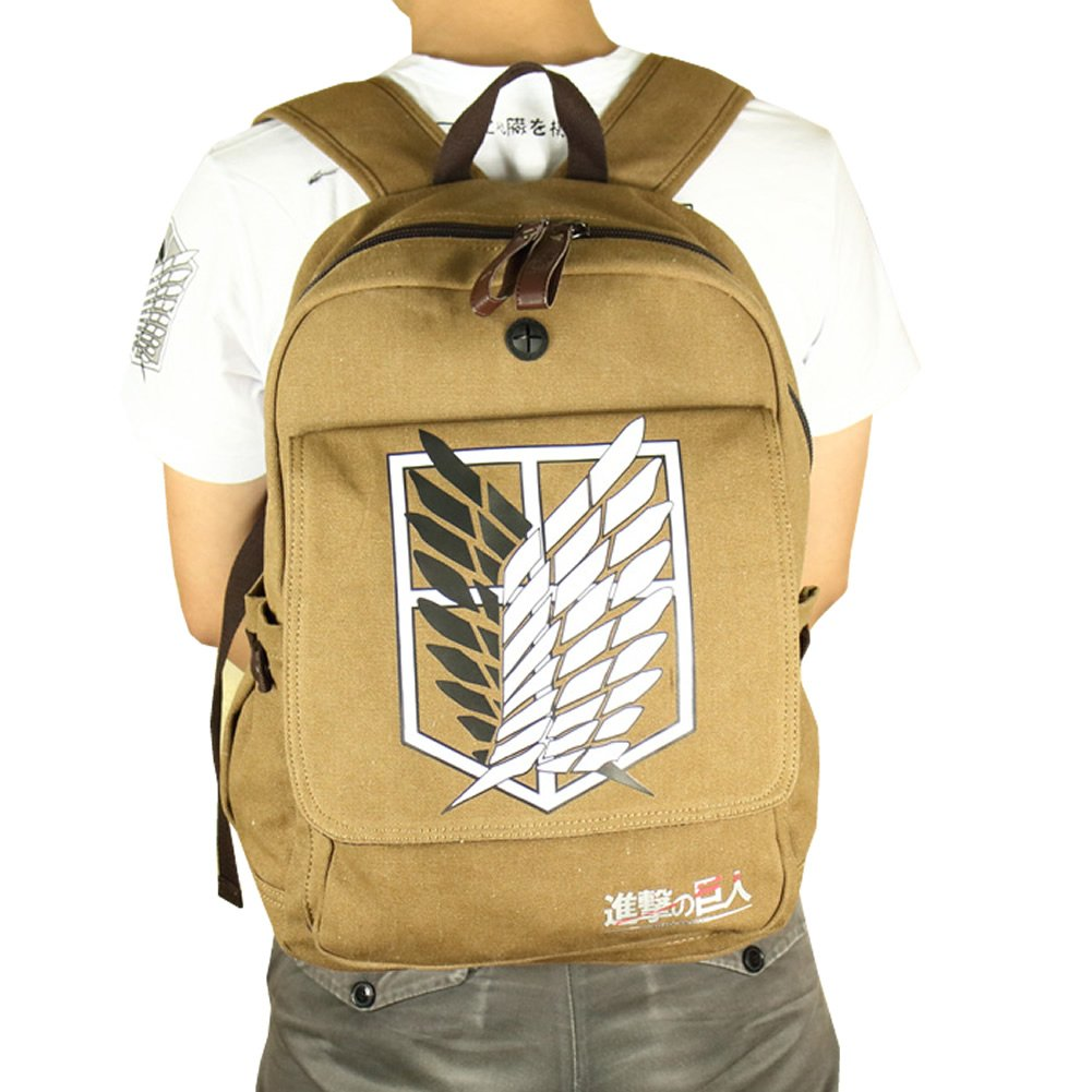 Attack on Titan Shingeki No Kyojin School Bag Pack