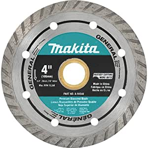 Makita A 94546 4 Inch Turbo Rim Diamond Masonry Blade