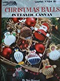 img - for Christmas Balls in Plastic Canvas (Leisure Arts, Leaflet 1724) book / textbook / text book