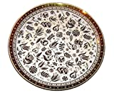 Georges Briard Persian Garden Glass Platter