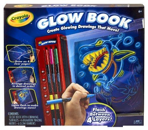 crayola-colour-explosion-glow-book-per-creare-disegni-con-effetti-in-movimento-istruzioni-in-inglese