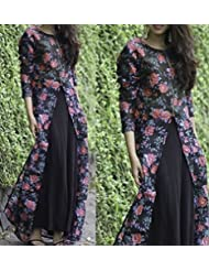 Typify Awesome Bhagalpuri Semistitched Salwar Suit Dress