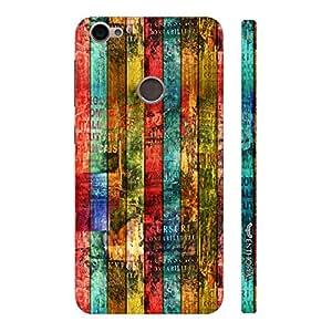 Enthopia Designer Hardshell Case Colour Wooden Grunge Back Cover for Letv Le Eco 1s