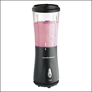 Hamilton Beach 51101B Personal Blender with Travel Lid Black