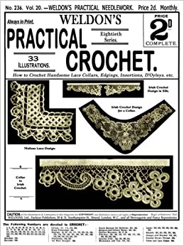 WELDON'S NEW CROCHET SERIES No. 5 - 1930s