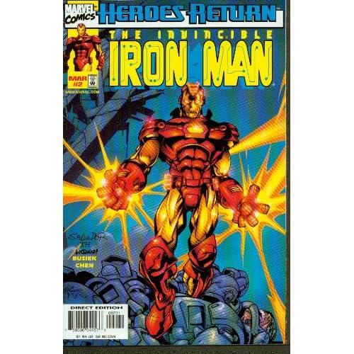 Iron Man #2 Hidden Assets Books