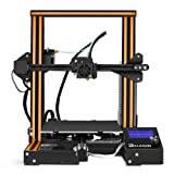 ELEGOO 3D Printer Ender-3 FDM 3D Printer with Resume Printing V-Slot Prusa i3 Frame, Suitable for Beginners and Enthusiasts