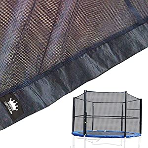 Vortigern Replacement Safety Netting for 10ft Diameter SIX pole Trampolines