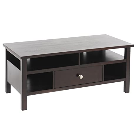 Flat Screen/Tube TV Stand with Drawer - Espresso