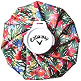 [キャロウェイアパレル] Callaway Apparel 熱帯フラワープリント氷嚢