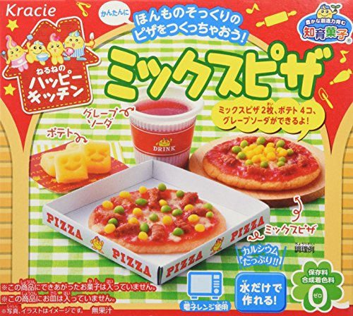 Mix Pizza Popin' Cookin' Kit DIY Candy By Kracie (Japanese Gummy Making Kit compare prices)
