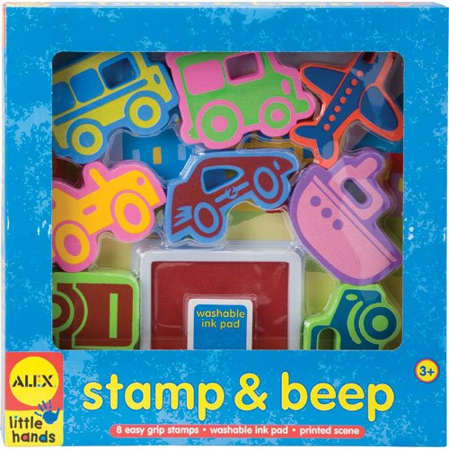 Alex Little Hands, Stamp and Beep