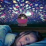 Liqoo® Sternenhimmel Projektor Sternenlicht Nachtlicht 360...