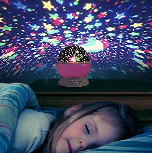 liqoo sternenhimmel projektor sternenlicht nachtlicht 360. Black Bedroom Furniture Sets. Home Design Ideas