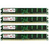 KOMPUTERBAY 8GB (4X 2GB) DDR2 800MHz PC2-6300 PC2-6400 (240 PIN) DIMM Desktop Memory with Samsung Semiconductors