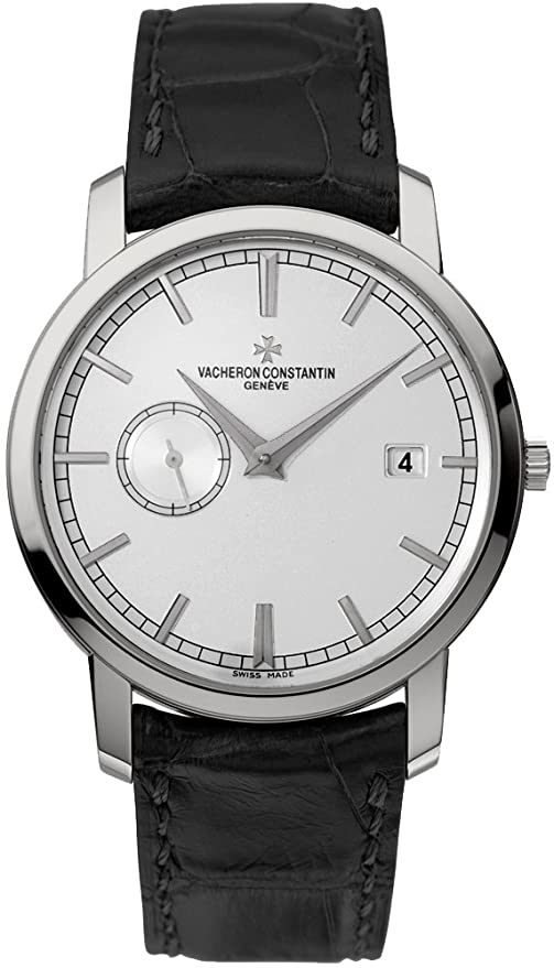 Vacheron Constantin Traditionelle Silver Dial Mens Watch 87172000G-9301