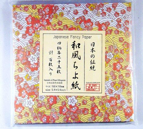 japanese fancy yuzen origami chiyogami folding paper